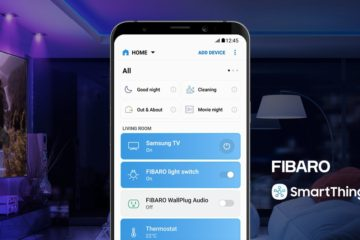 smartthings fibaro