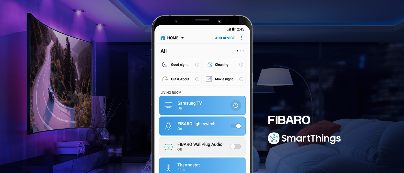 SmartThings synergy with FIBARO smart devices | Smart Home